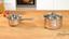 Kochtopfset Diadem Plus 7-teilig inkl. Deckel - Silberfarben, KONVENTIONELL, Glas/Metall - WMF