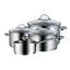 WMF Kochtopfset Provence Plus 7-Teilig - Silberfarben, Basics, Glas/Metall - WMF