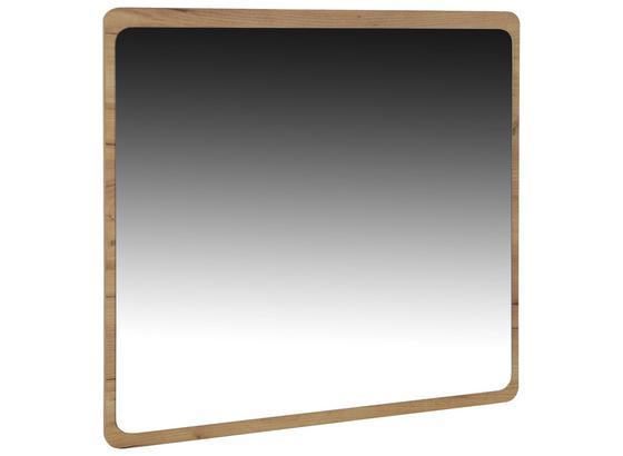 Zrcadlo Fontana - barvy dubu, Moderní, kompozitní dřevo (84/83/2cm)
