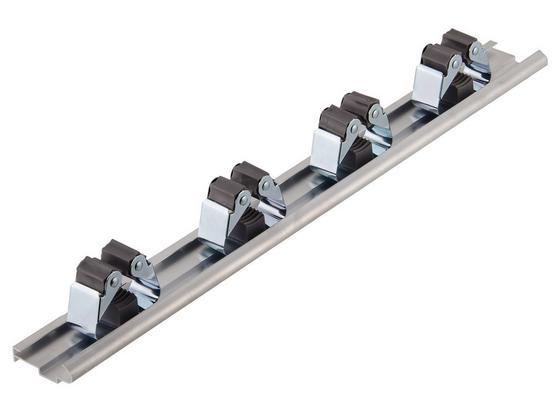 Gerätehalter Ø 10-30 mm - Silberfarben, MODERN, Metall (8/4,5/5,2cm) - Suki