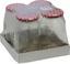 Einmachglas Ulrike, 720 ml - Transparent/Rot, KONVENTIONELL, Glas/Metall (0,720l)