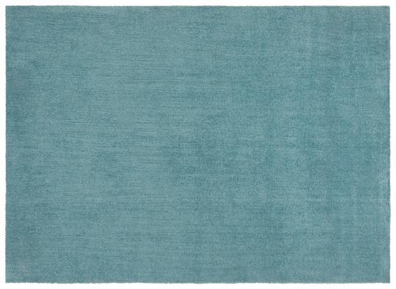 Hochflorteppich Piper 160x230 cm - Türkis, Basics, Textil (160/230cm) - Luca Bessoni
