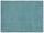 Hochflorteppich Piper 80x150 cm - Türkis, Basics, Textil (80/150cm) - Luca Bessoni