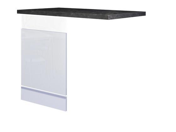 Výkryt Na Myčku Na Nádobí Alba  Gsp-paket Ti 60 - bílá/barvy břidlice, Moderní, dřevěný materiál (60cm)