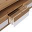 Tv Diel Kashmir New - farby dubu/biela, Moderný, kompozitné drevo (185/50/49cm) - James Wood
