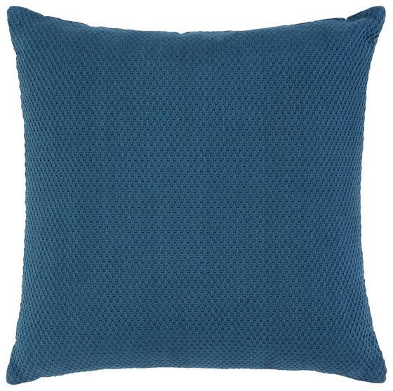Polštář Ozdobný Malmö - tmavě modrá, textil (45/45cm) - Mömax modern living