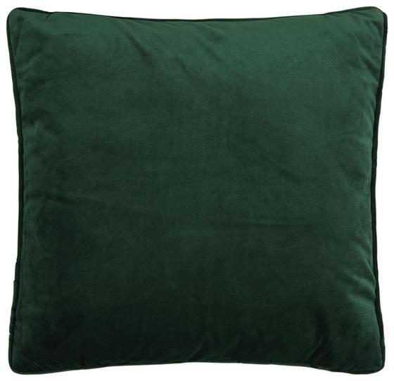 Dekoračný Vankúš Viola - tmavozelená, Moderný, textil (45/45cm) - Mömax modern living