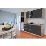 Küchenblock Premium B: 270 cm Grau Hgl - Eichefarben/Grau, MODERN, Holzwerkstoff (270/220,5/60cm) - MID.YOU
