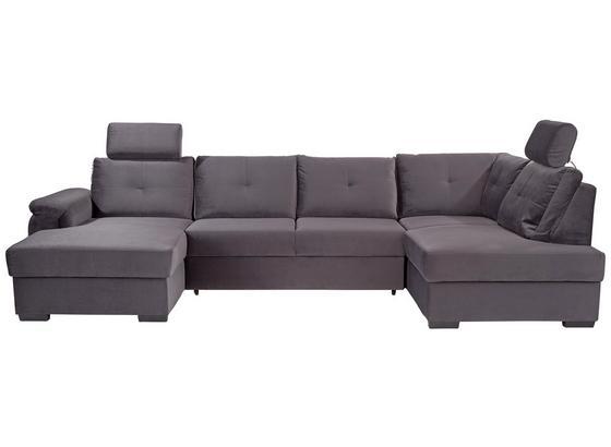 Sedací Souprava Montreal - bílá/tmavě šedá, Konvenční, kompozitní dřevo/textil (168/325/184cm) - Ombra