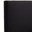 Boxspringbett Nero - Chromfarben/Schwarz, KONVENTIONELL, Textil (180/200cm)