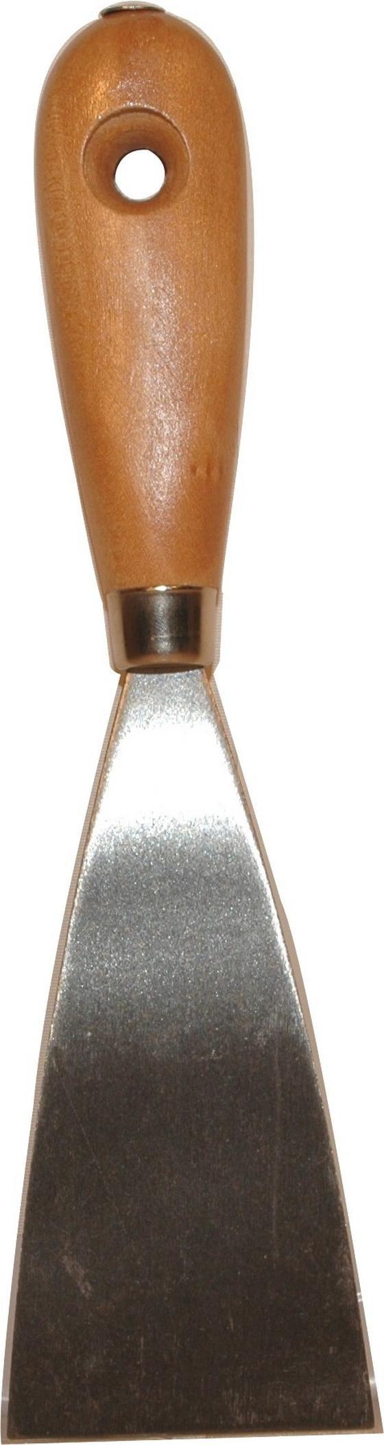 Spachtel 10cm - Silberfarben, KONVENTIONELL, Metall (25cm) - Gebol