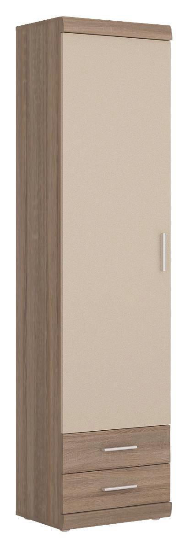 Tárolószekrény Imperial - pezsgő szín/trüffel tölgy dekor, konvencionális (50/195/38cm)