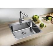 Spüle Blanco S-style 400-if/a - Edelstahlfarben, KONVENTIONELL, Metall (44/17,5/50cm) - Blanco
