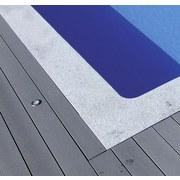 Poolumrandung Christal Grey 400 X 800 cm - Hellgrau, MODERN, Stein (400/800cm)