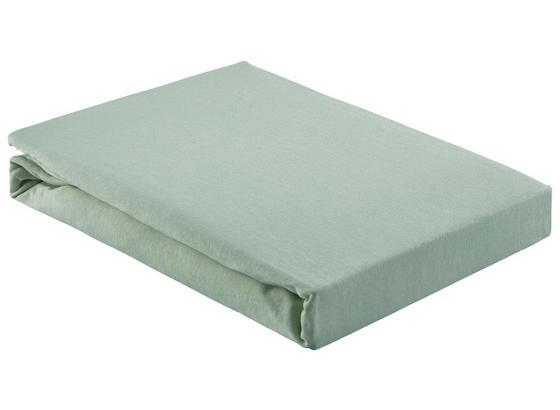 Napínacie Prestieradlo Basic - svetlozelená, textil (180/200cm) - Mömax modern living