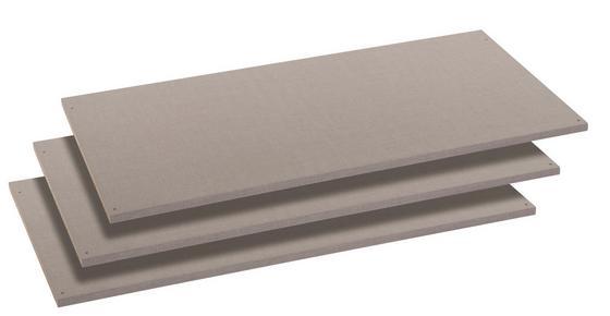 Einlegeboden 3er-Set - Grau (88/1,6/45cm)