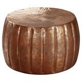 Couchtisch Rund Orient-Style Jamal, Kupferfarben - Kupferfarben, LIFESTYLE, Metall (60/60/36cm) - Livetastic