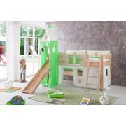 Kinderkissen Grün/orange/beige - Beige/Orange, Design, Textil (90/20/30cm)