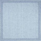 Tischdecke Pauline - Blau, ROMANTIK / LANDHAUS, Textil (80/80cm) - JAMES WOOD