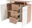 Kommode Leon Pl03 - Eichefarben/Erlefarben, MODERN, Holzwerkstoff (120/92,3/40cm)