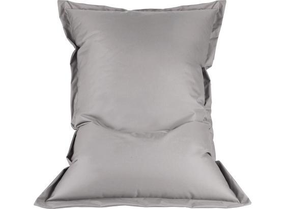 Sitzsack B52 Anthrazit - Silberfarben, MODERN, Textil (140/100/30cm)