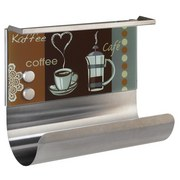 Küchenrollenhalter Kaffeeduft Magnetisch - Multicolor, MODERN, Glas/Metall (30/14,5/26cm)