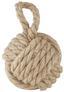 Zarážka Dveřní Rope - béžová, textil (14cm) - Mömax modern living