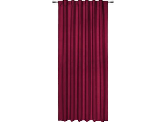 Zatemňovací Závěs Riccardo - bobulová, textil (140/245cm) - Premium Living
