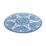 Badteppich Mandalay, D: 80 cm - Multicolor, MODERN, Textil (80/1,5cm) - Kleine Wolke