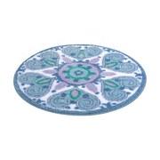 Badteppich Mandalay, DM 60cm - Multicolor, Basics, Textil (60/1,5cm)