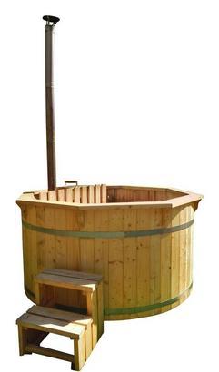 Holz-Badefass für den Garten
