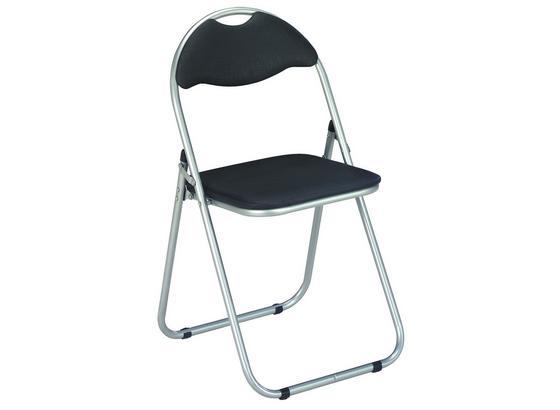 Skládací Židle Shake - černá, Moderní, kov/umělá hmota (44/80/47cm)