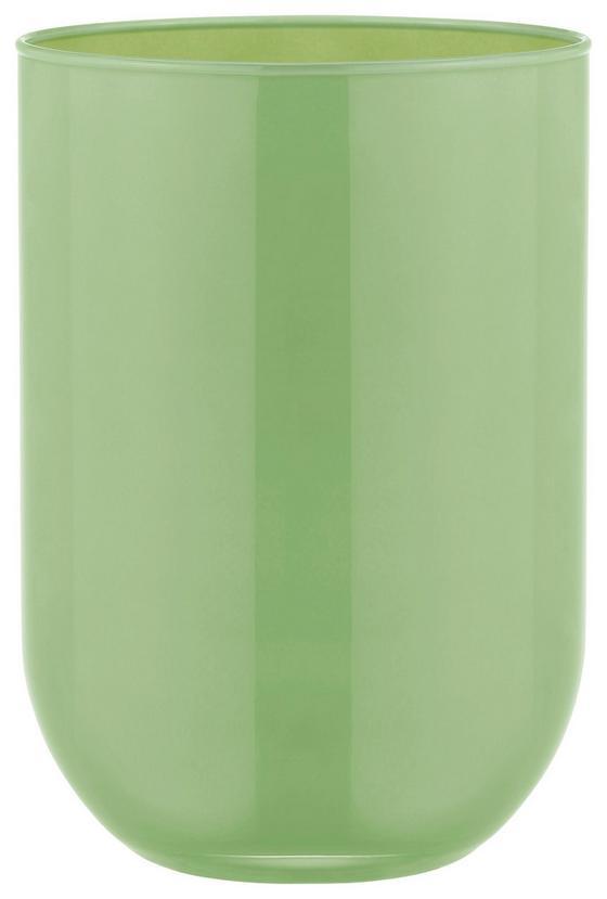 Vase Ø 13,5 cm - Gelb/Braun, KONVENTIONELL, Glas (13,5/20cm)