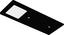 Unterbauleuchten-Set Astrale  Leuchtenset - Schwarz, Kunststoff