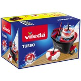 Reinigungsset Supermocio Turbo - Rot/Weiß, KONVENTIONELL, Textil (50/29,3/30cm) - Vileda
