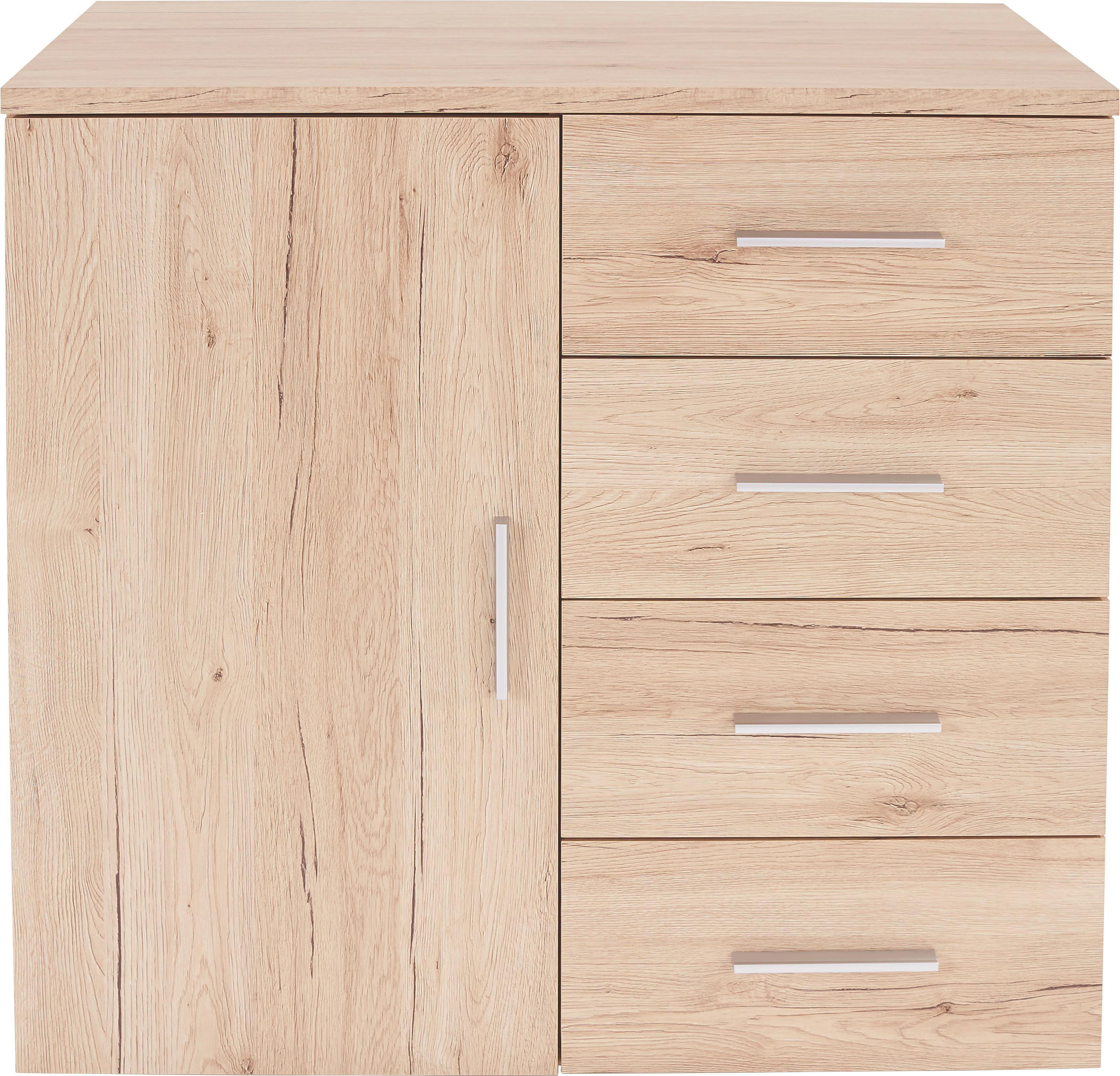 Komoda Komoda - boje hrasta, Moderno, drvni materijal (80/86/50cm)