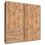 Schwebetürenschrank mit Laden 200cm Level 36a, Eiche Dekor - Eichefarben, MODERN, Holzwerkstoff (200/216/65cm) - MID.YOU