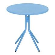 Kindertisch Lea - Blau, MODERN, Kunststoff/Metall (50/48/50cm) - Ombra
