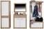 Šatná Skriňa Malta - farby dubu/biela, Moderný, drevený materiál (65/196,8/36cm)