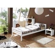 Bett Nadine 90x200 cm Weiß - Weiß, KONVENTIONELL, Holz (90/200cm) - Livetastic