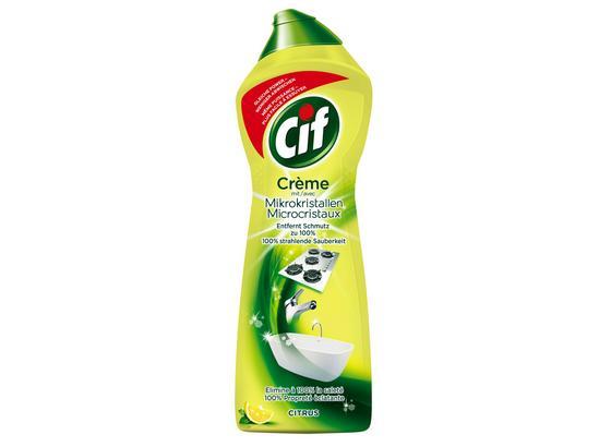 Universalreiniger Cif Creme Citrus - Basics, Karton/Kunststoff (5,4/28,1/9,1cm)