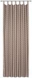 Kombivorhang Mariella - Taupe, ROMANTIK / LANDHAUS, Textil (140/255cm) - James Wood