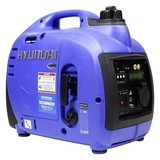 Stromerzeuger HY1000Si D - Blau, KONVENTIONELL, Kunststoff (45,1/38/24,2cm) - Hyundai