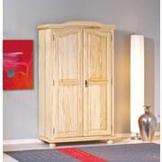 Drehtürenschrank Massiv 104cm Genf, Kiefer - Naturfarben, LIFESTYLE, Holz (104/180/56cm) - MID.YOU