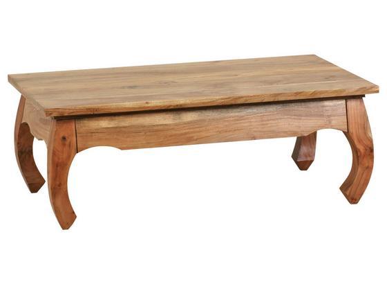 Couchtisch Holz Massiv Opium, Akazie B:110cm - Akaziefarben, Design, Holz (110/60/40cm) - Carryhome