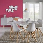 Nástenné Zrkadlo Malena - farby striebra, Moderný, kov/drevený materiál (63/105,5/2,5cm) - Mömax modern living