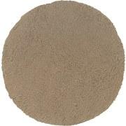 Badteppich Molly DM:80cm - Taupe, MODERN, Textil (80cm) - Kleine Wolke