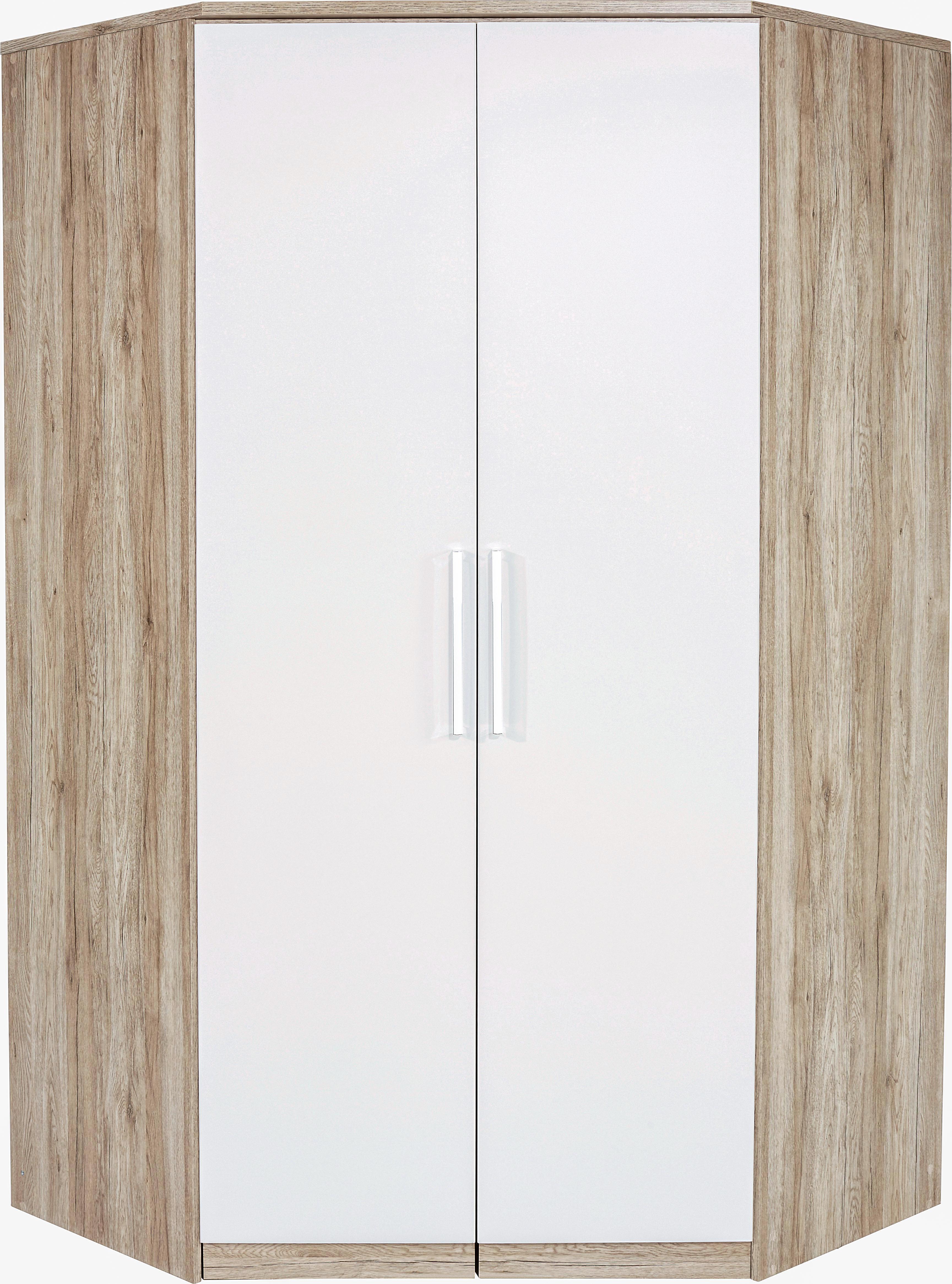 SAROKSZEKRÉNY WIEN - tölgy színű/fehér, konvencionális, faanyagok (117/212cm)