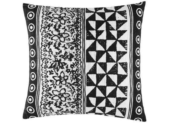Polštář Ozdobný Harare 1 - černá/přírodní barvy, Lifestyle, textilie (45/45cm) - Mömax modern living