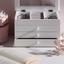 Šperkovnice Julie - bílá, kompozitní dřevo/textil (25/17/15cm) - Mömax modern living